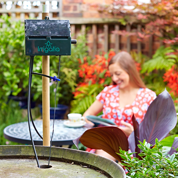 Relax - let Irrigatia's Automatic Watering system care for your plants